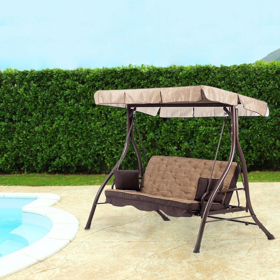 Milani Home CERVIX - dondolo da giardino in metallo