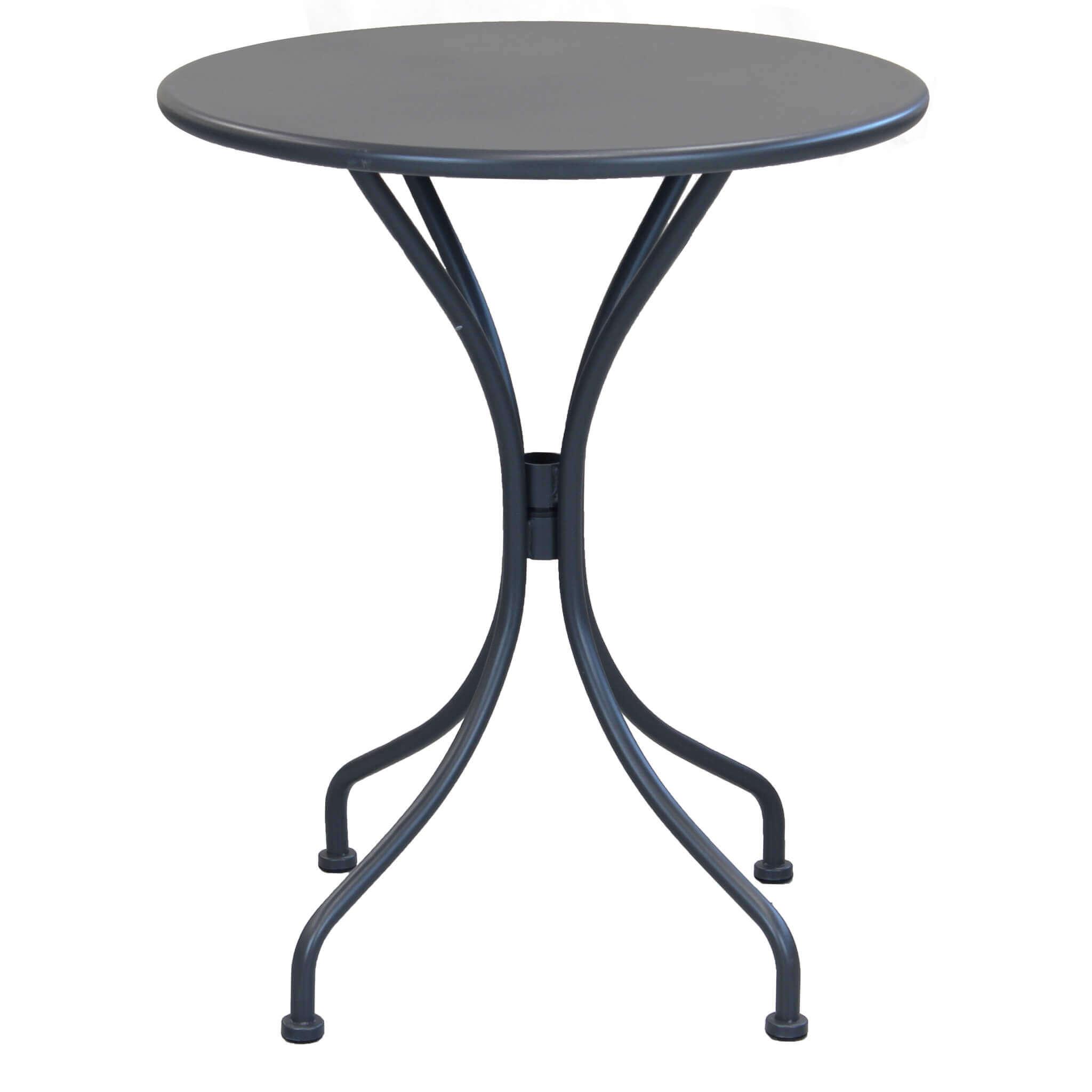 Milani Home ROMANUS - tavolo da giardino rotondo in ferro ø 60