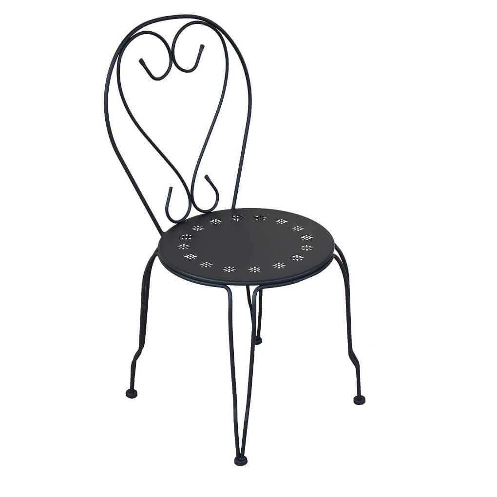 Milani Home PORTUS - sedia da giardino in ferro