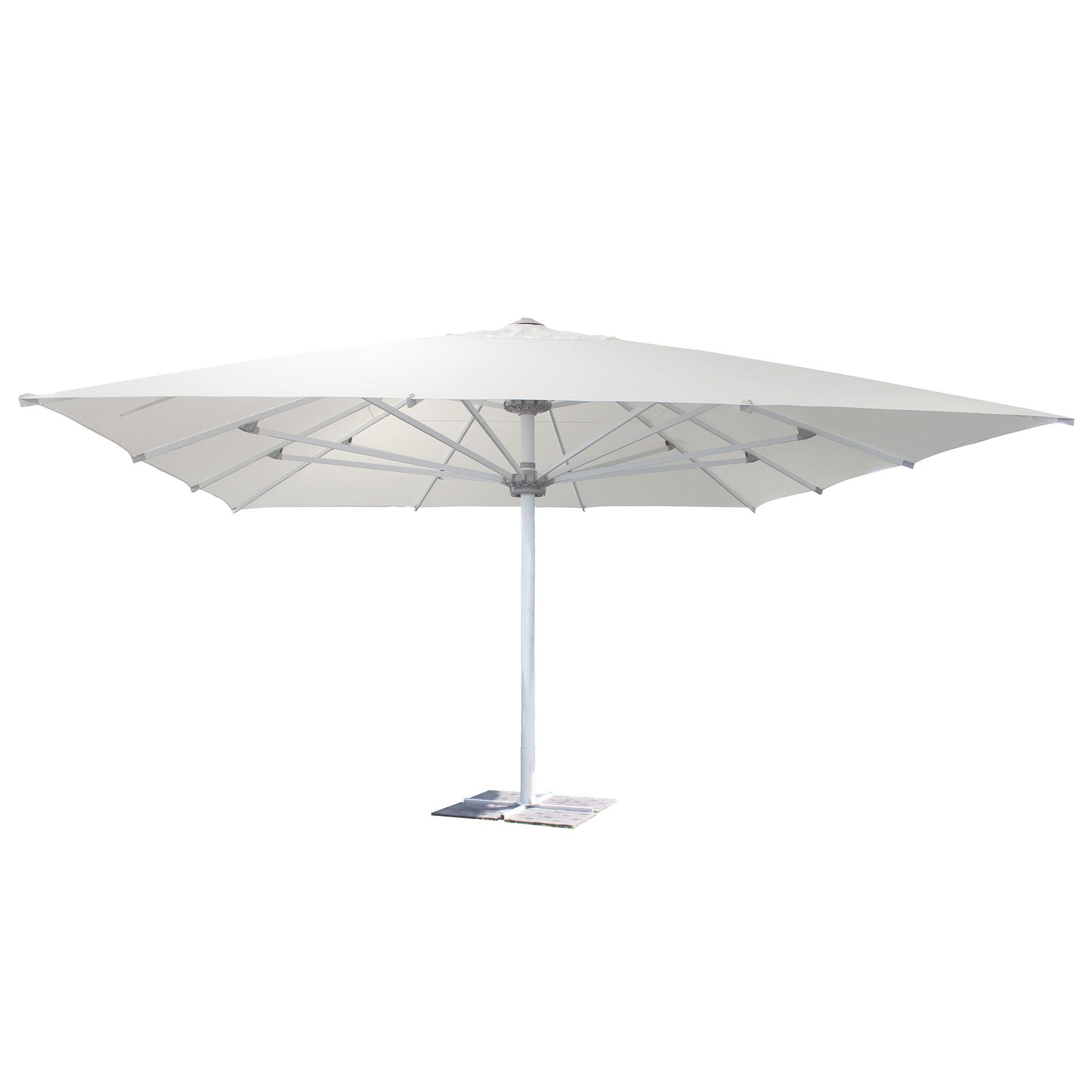 Milani Home ALABARDA - ombrellone da giardino 5 x 5 palo centrale