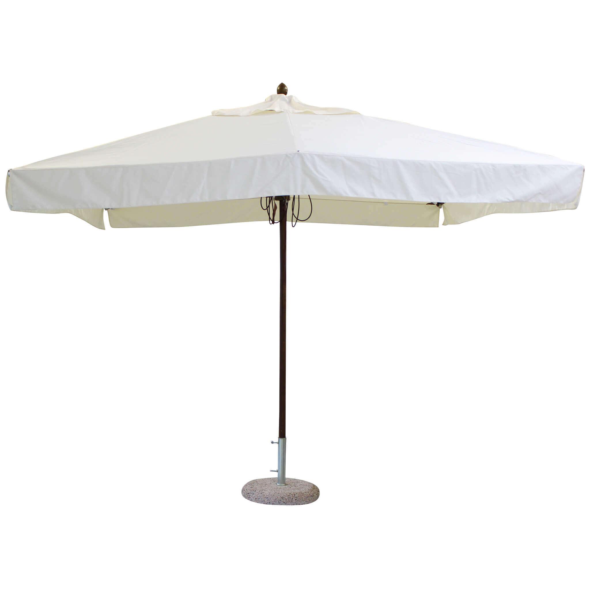 Milani Home VICTOR - ombrellone da giardino 3 x 4 palo centrale