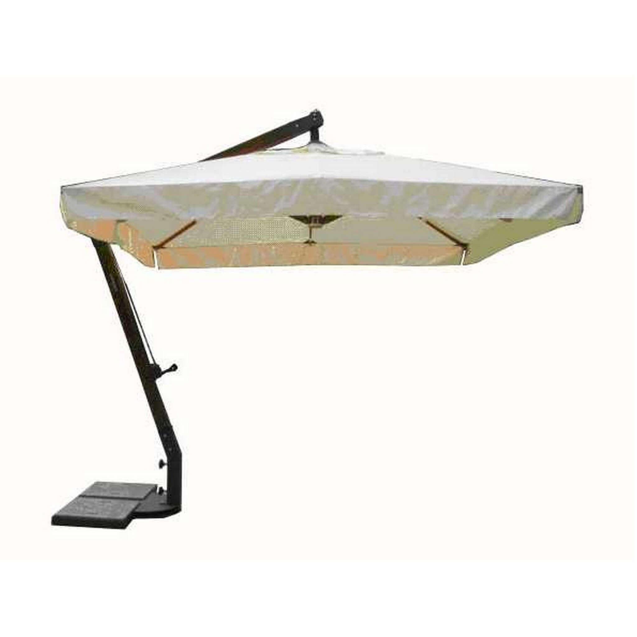Milani Home VICTOR - ombrellone da giardino 3 x 3 decentrato