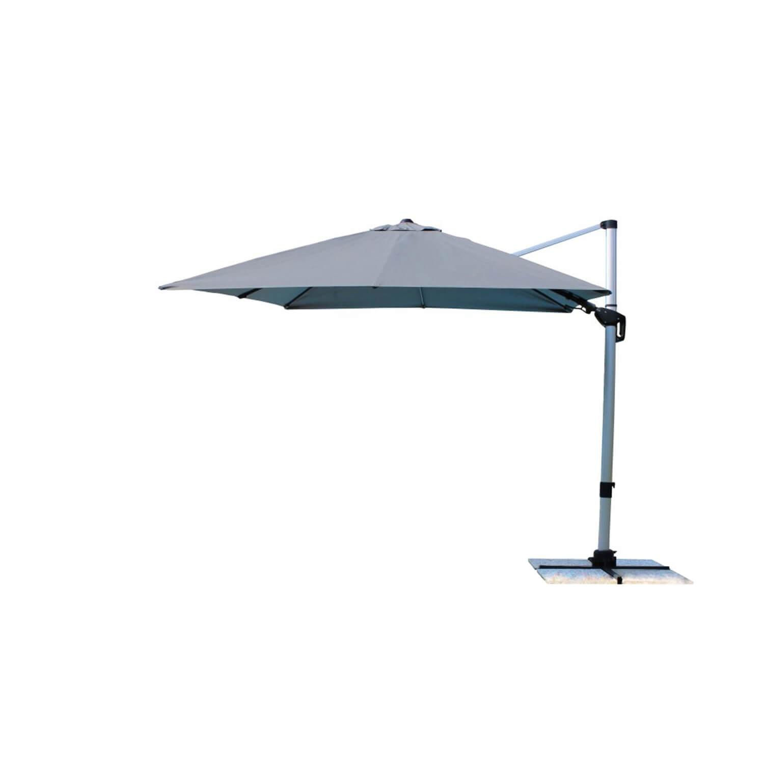 Milani Home HIATUS - ombrellone da giardino 3 x 3 decentrato