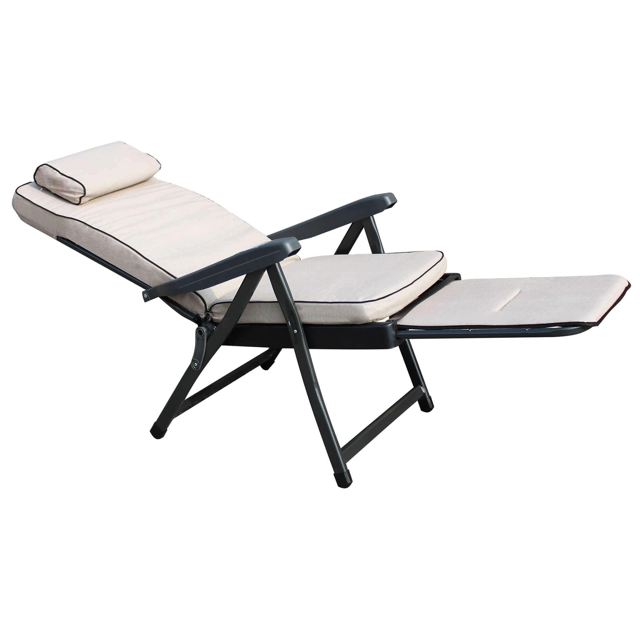 milani home harper - poltrona sdraio relax reclinabile