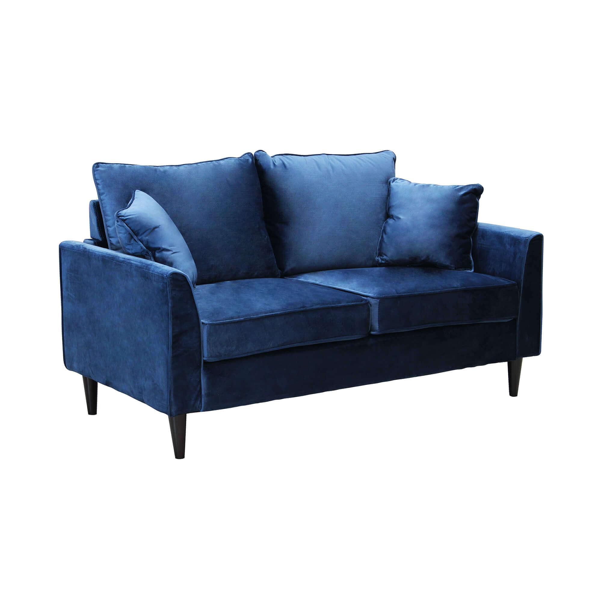 Milani Home VELVET - divano in velluto due posti