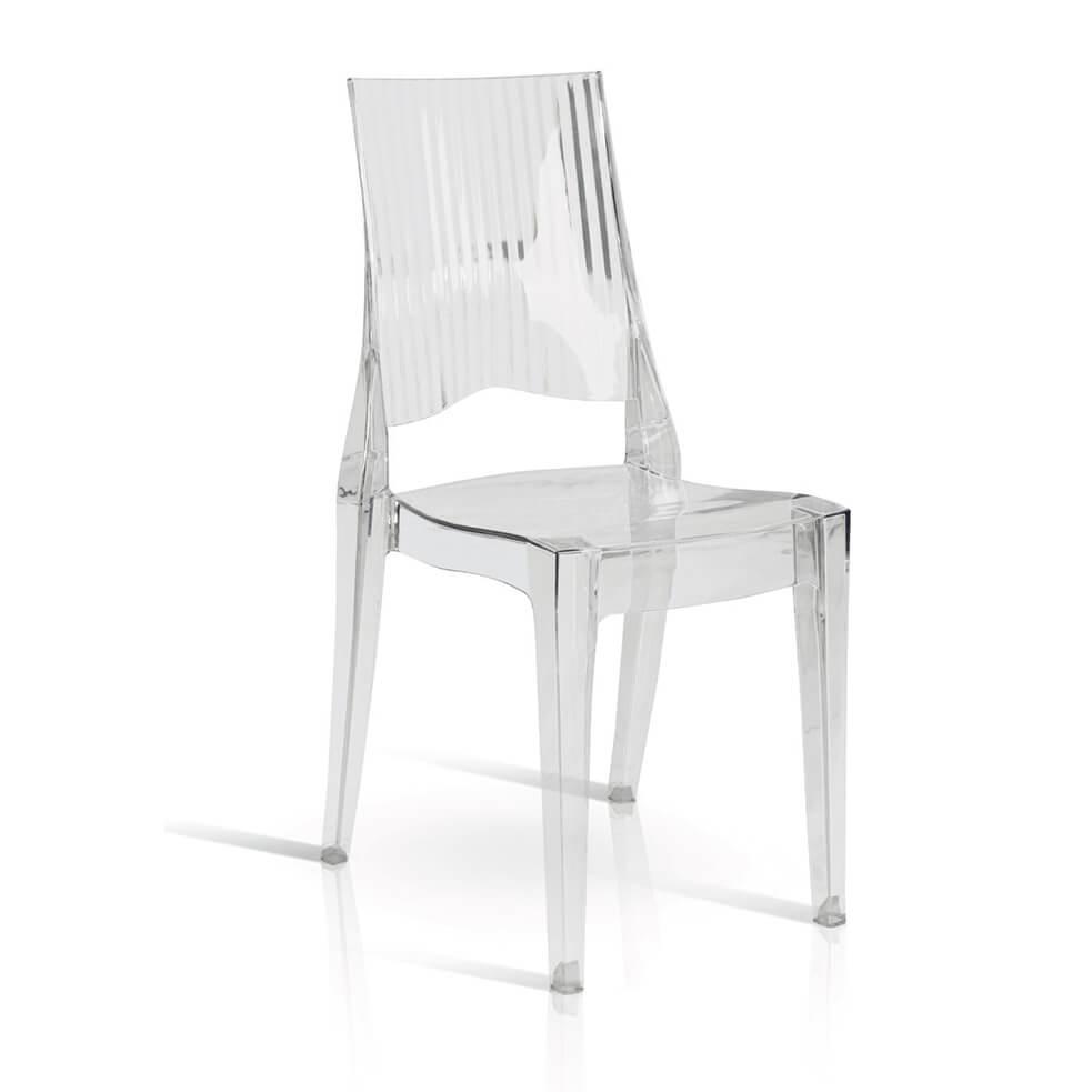 Milani Home ALEXA - sedia in policarbonato