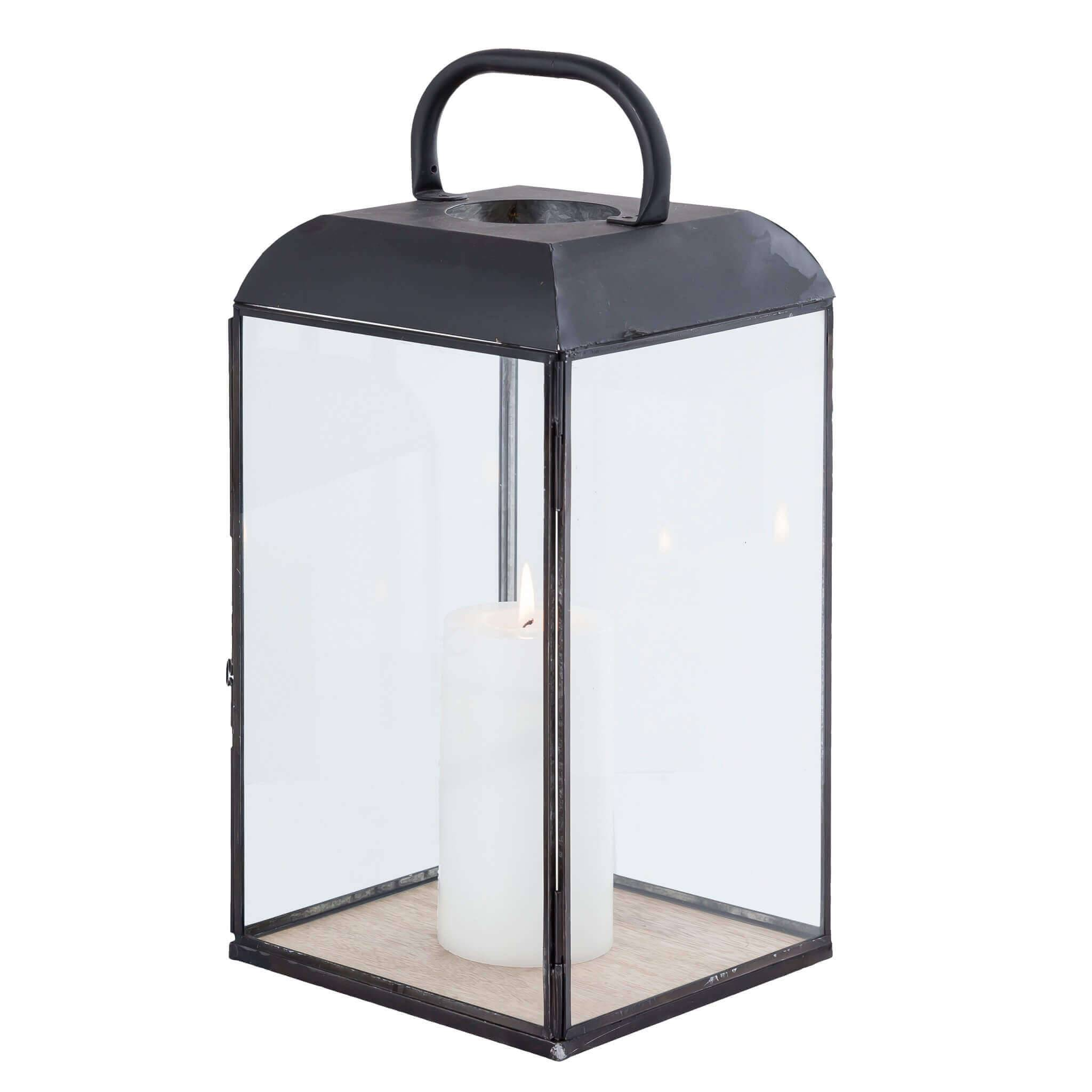 Milani Home ANASTASIE - lanterna in vetro e metallo