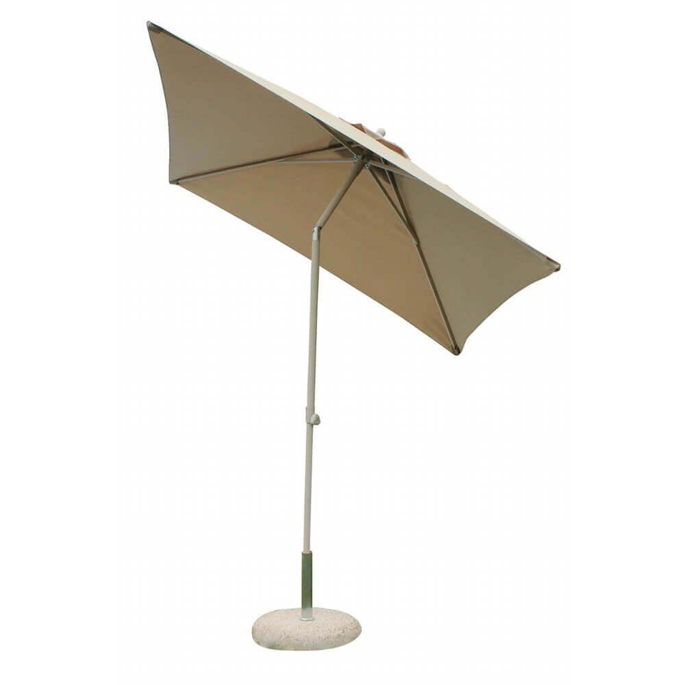 Milani Home SERTUM - ombrellone da giardino 2 x 2 palo centrale