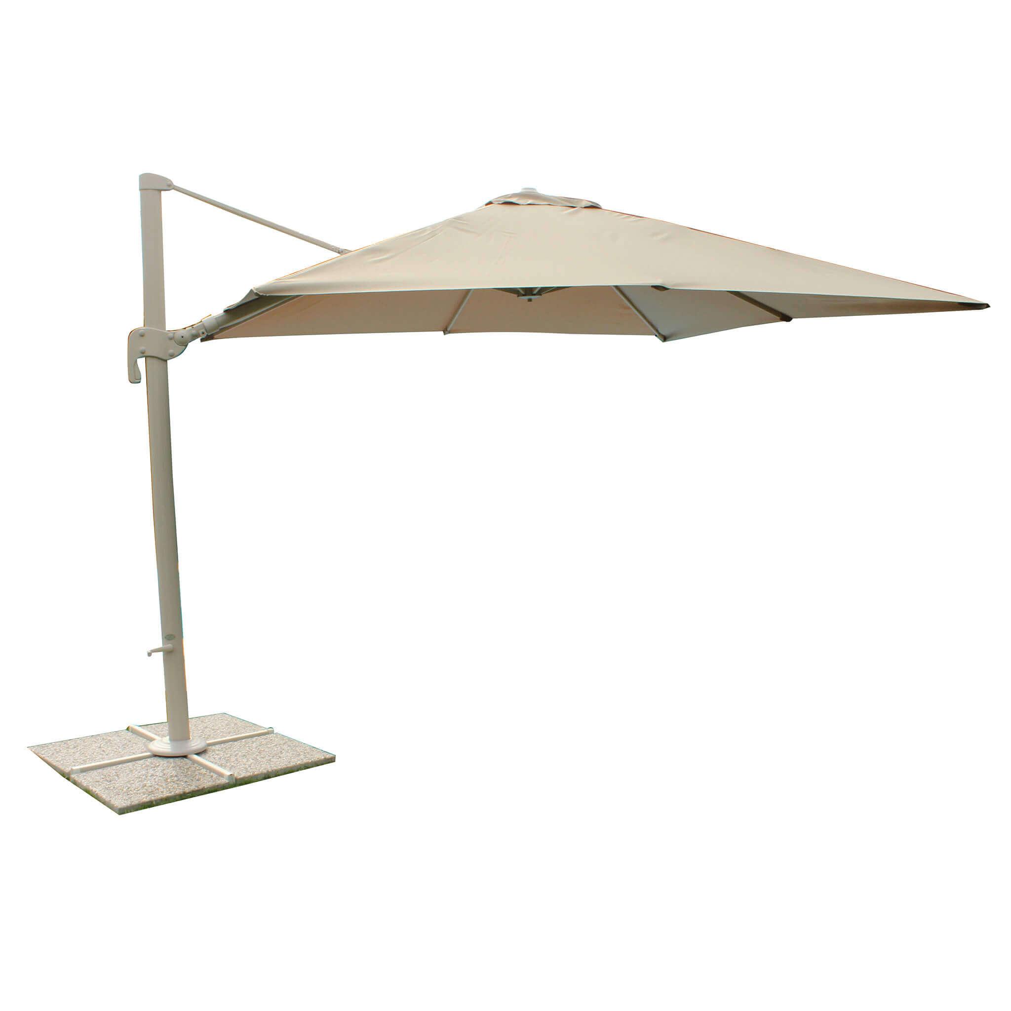 Milani Home SAGITTARIUS - ombrellone da giardino 3 x 4 decentrato