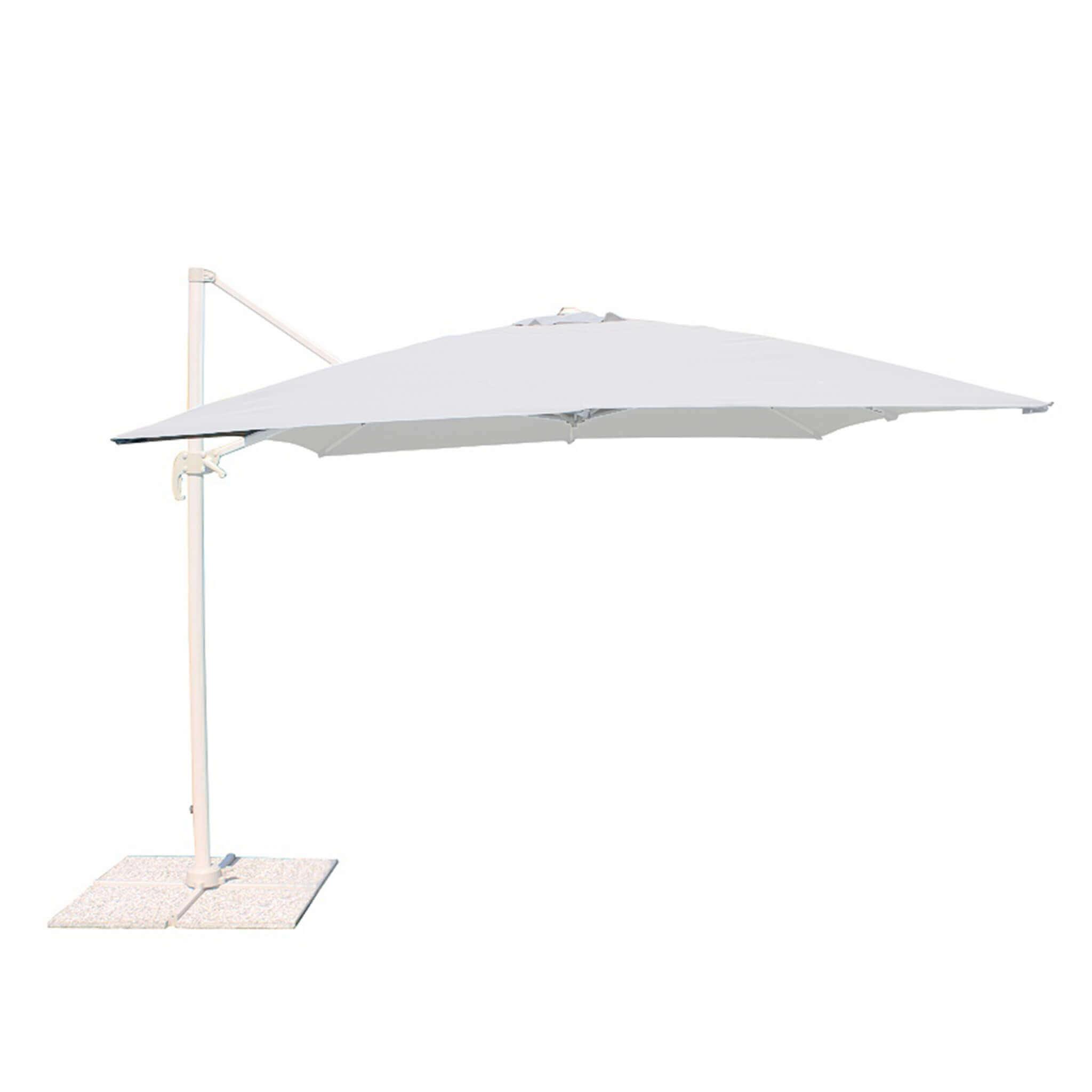 Milani Home MERIDIES - ombrellone da giardino 3 x 3 decentrato