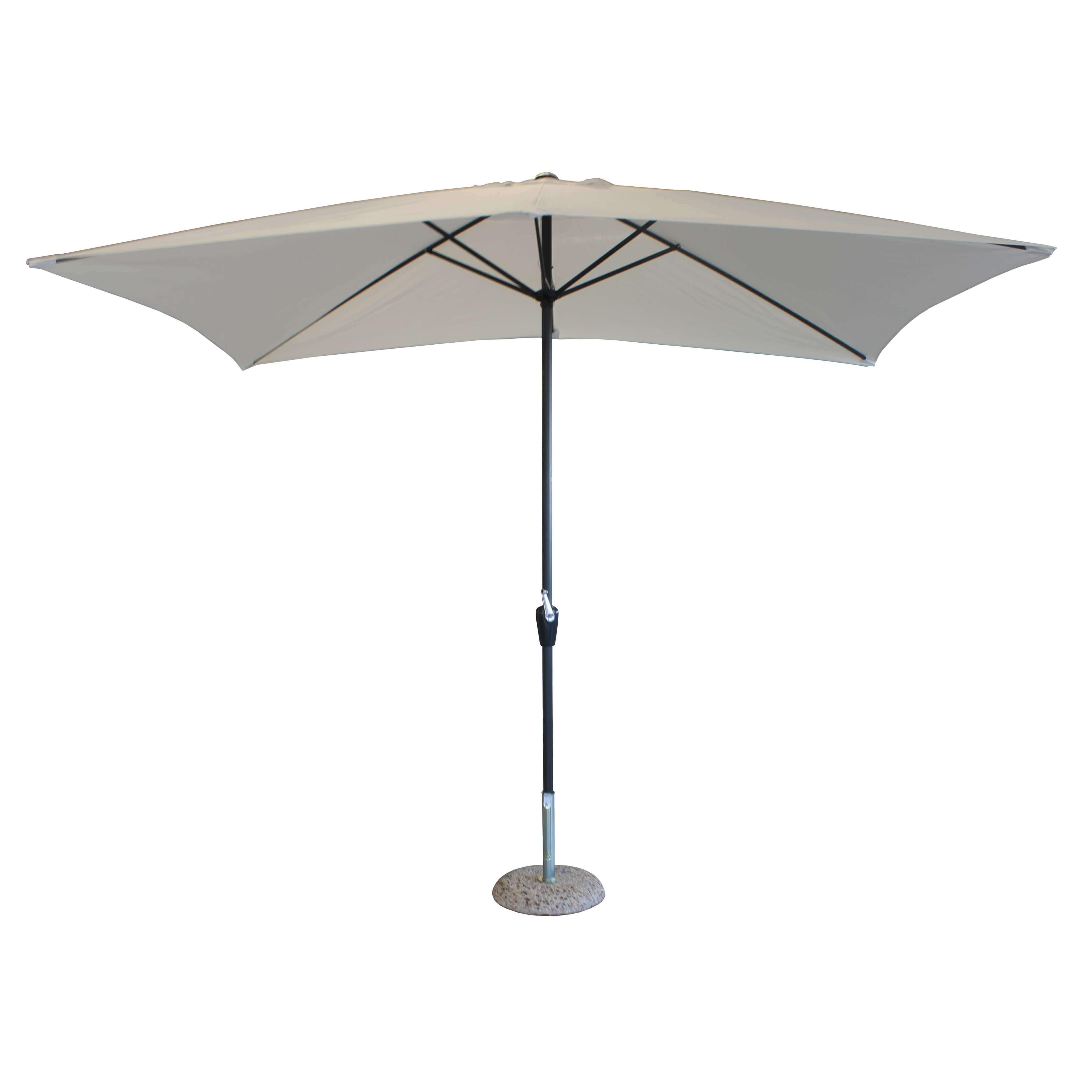 Milani Home MARITUS - ombrellone da giardino 2 x 3 palo centrale
