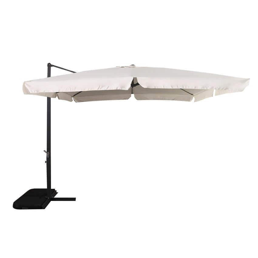Milani Home DARWIN - ombrellone decentrato da giardino 3 X 3