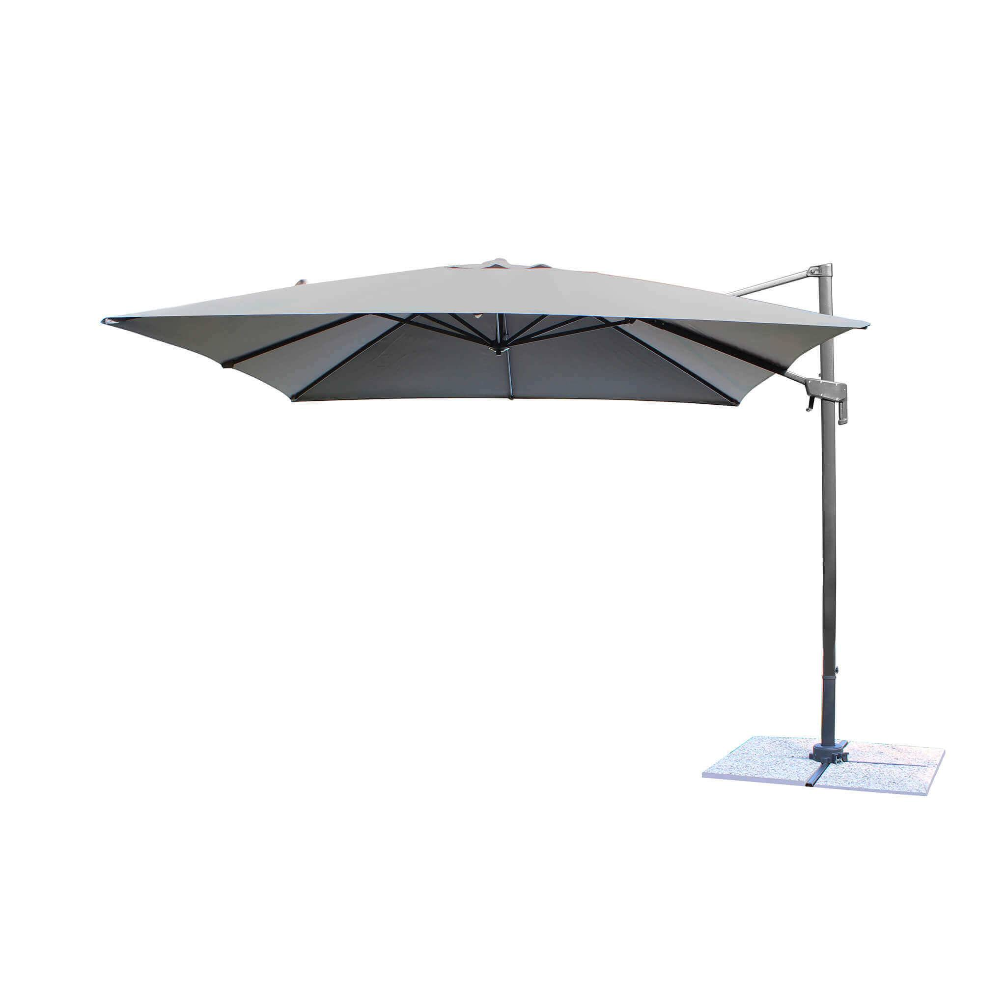 Milani Home VOLTA - ombrellone decentrato da giardino 2 X 3