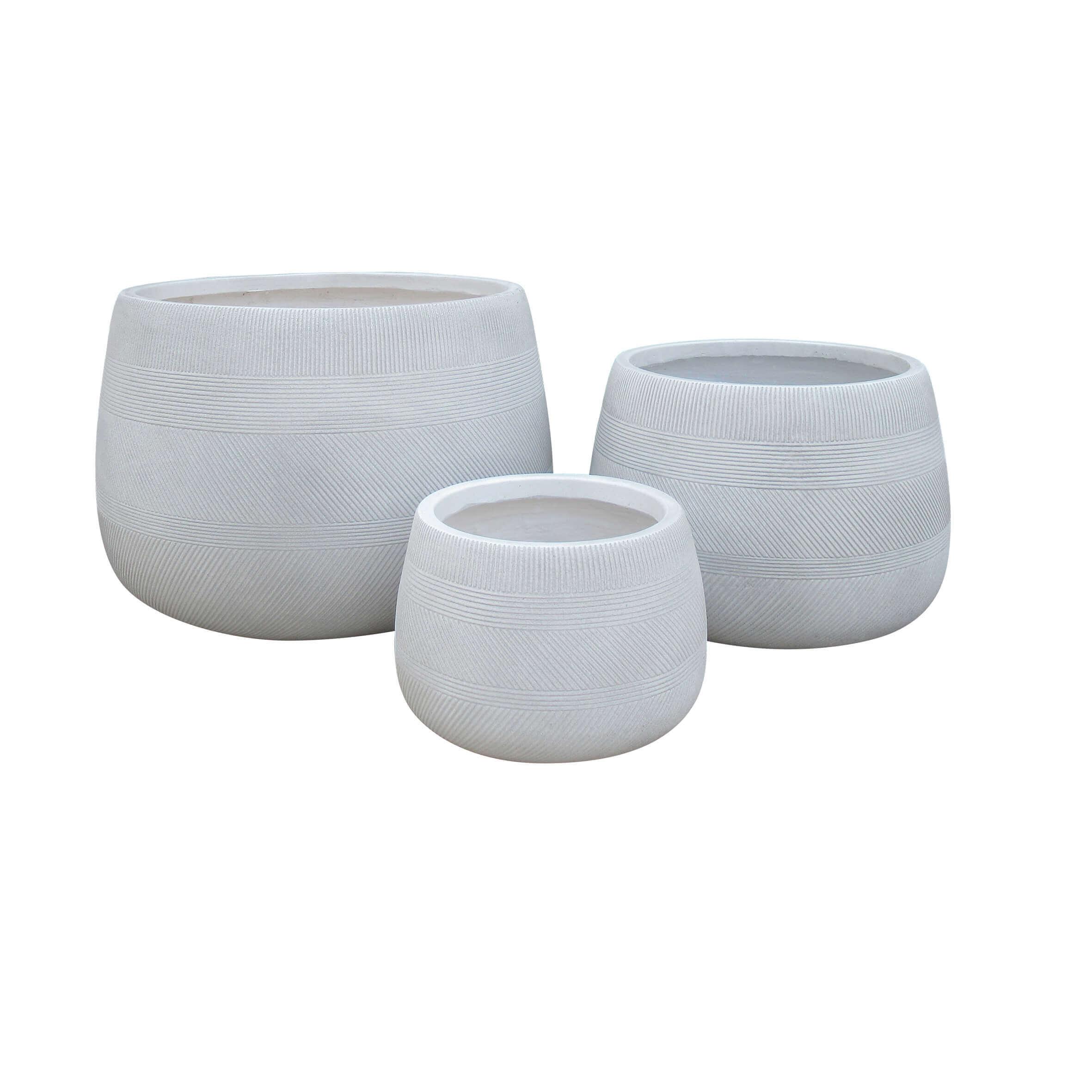Milani Home ALVARO - set di 3 vasi