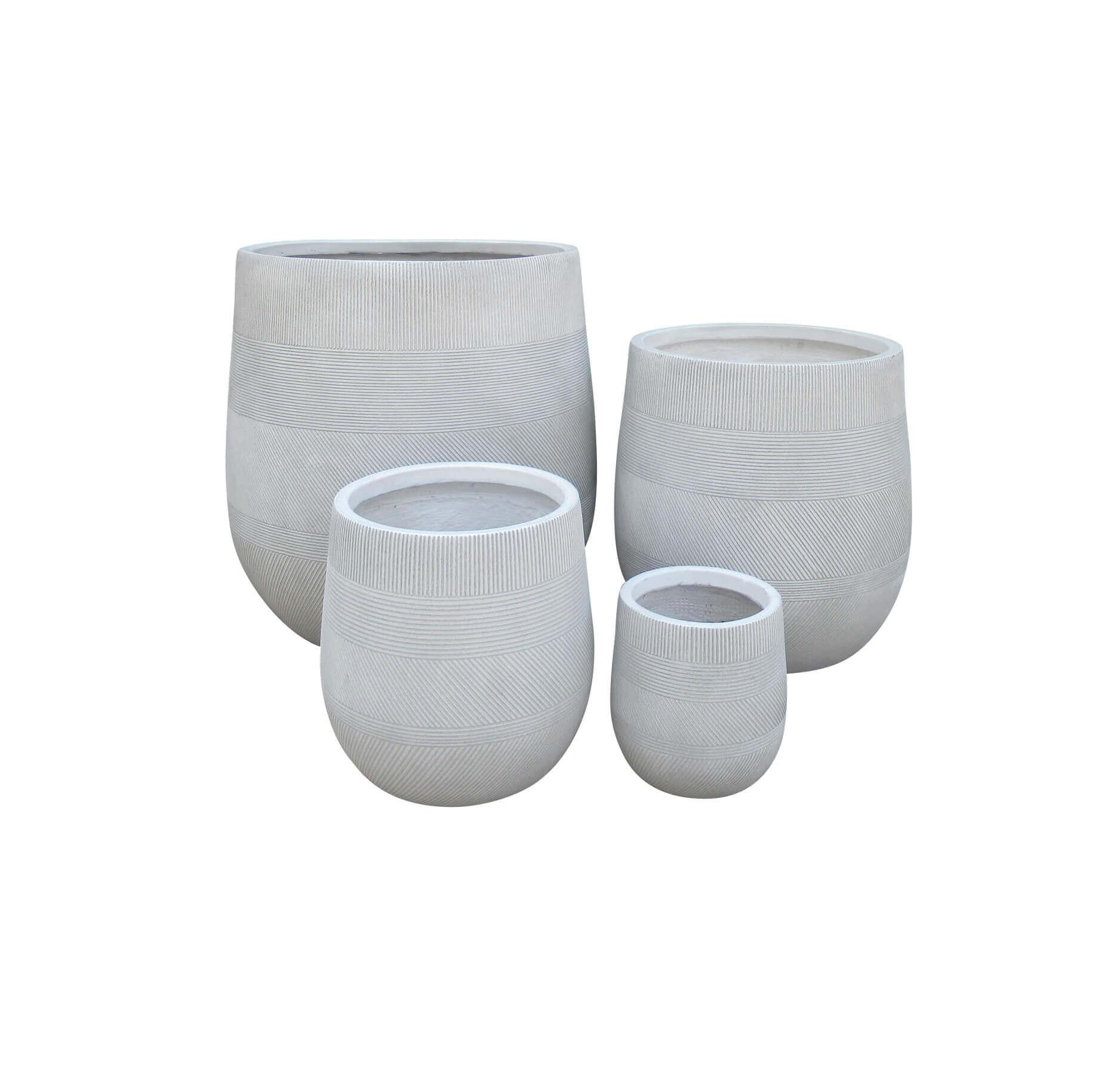 Milani Home ALVARO - set di 4 vasi
