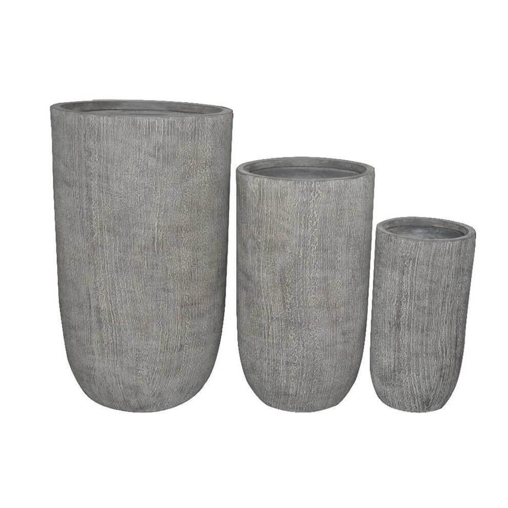 Milani Home PATRICIA - set di 3 vasi
