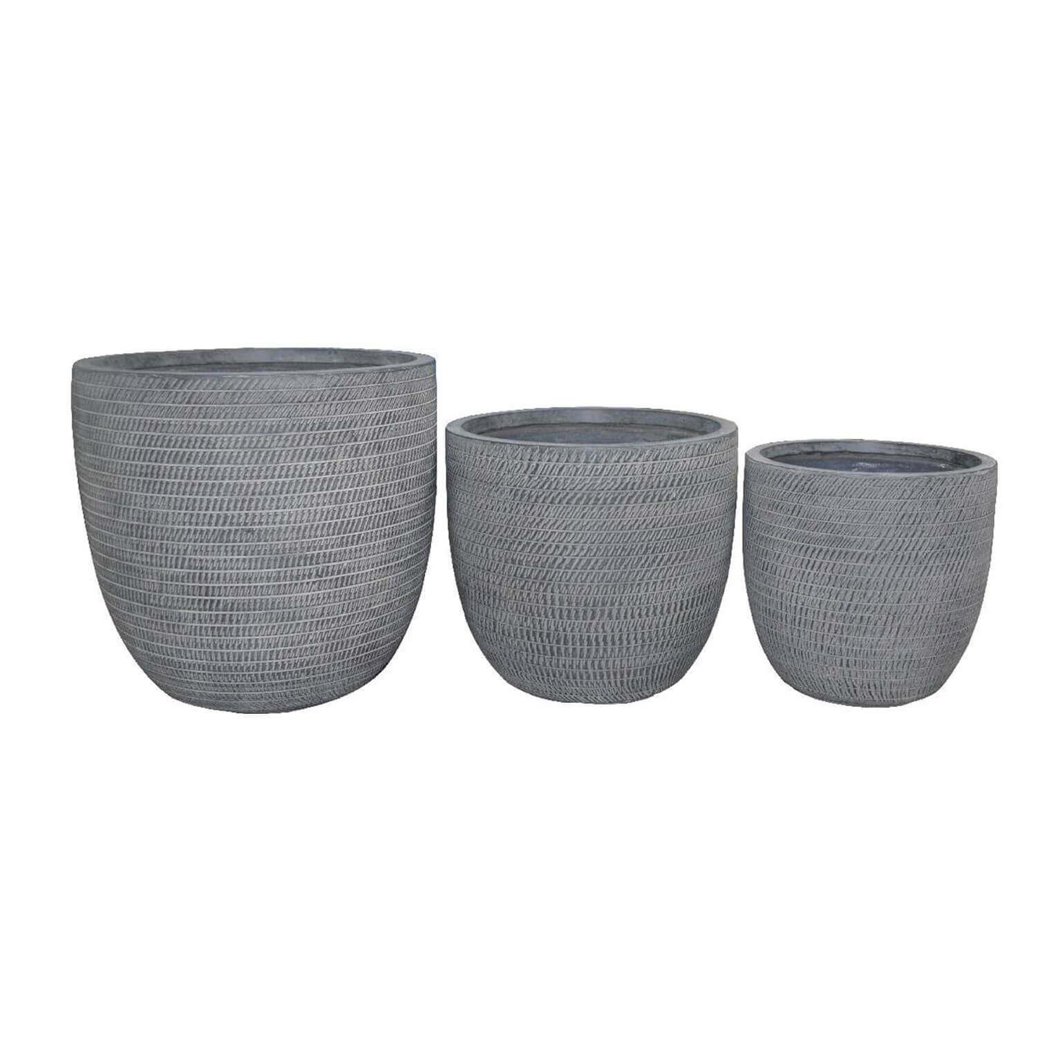 Milani Home ALICIA - set di 3 vasi