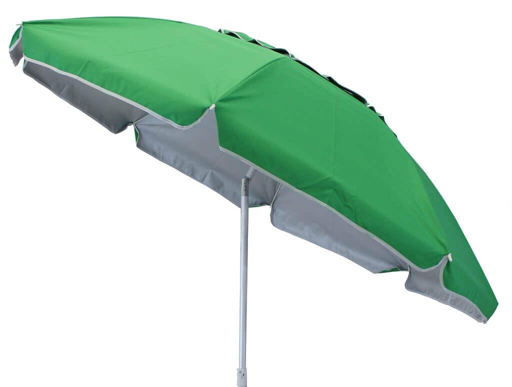 Milani Home ombrellone da spiaggia in alluminio ø 1,8 m