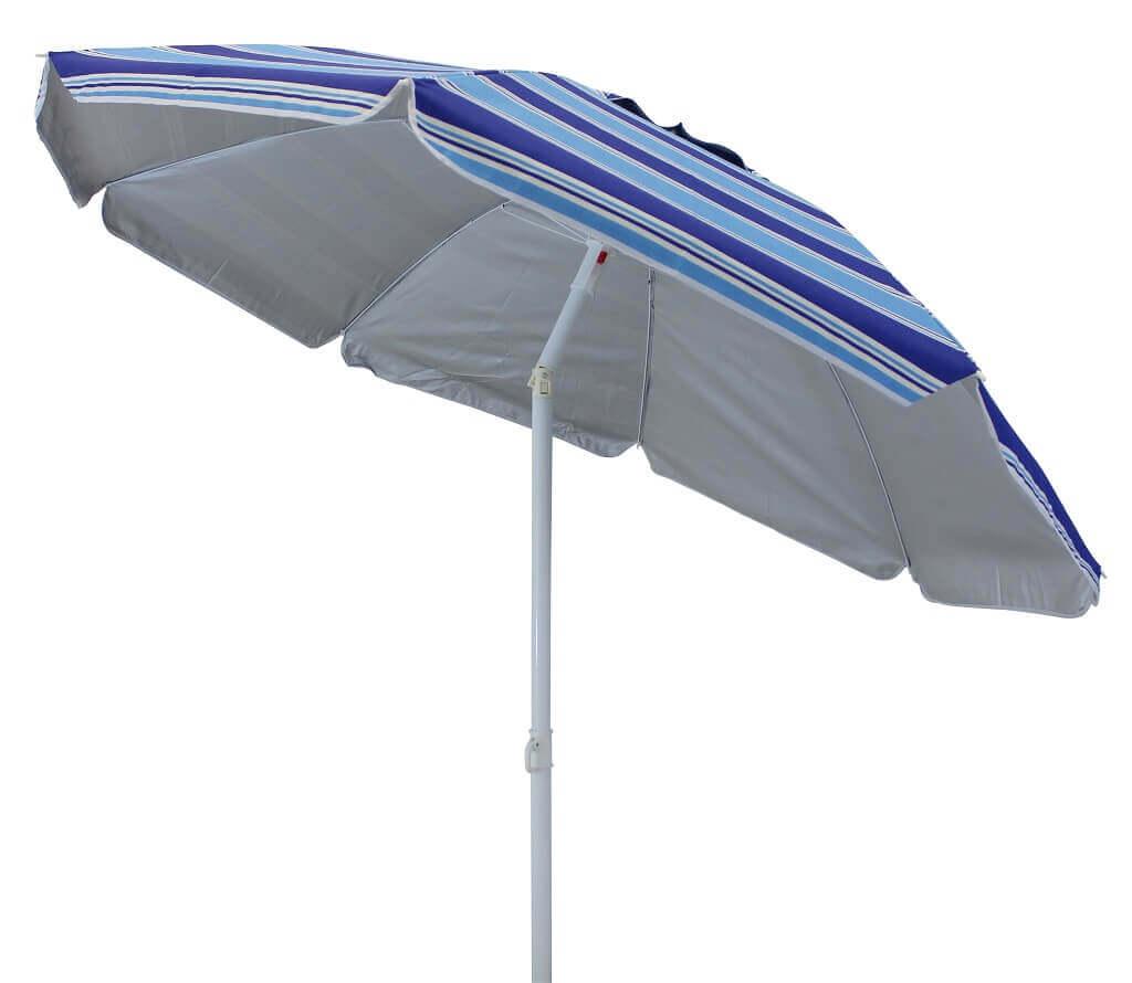 Milani Home ombrellone da spiaggia poliestere uv ø 2 m