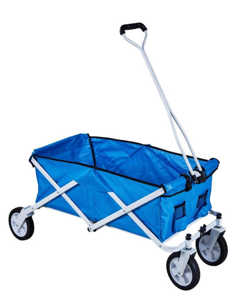 Milani Home SALERNO - carrello da spiaggia e campeggio pieghevole
