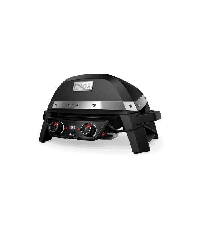 weber pulse 2000 grill da tavolo elettrico nero 2200 w
