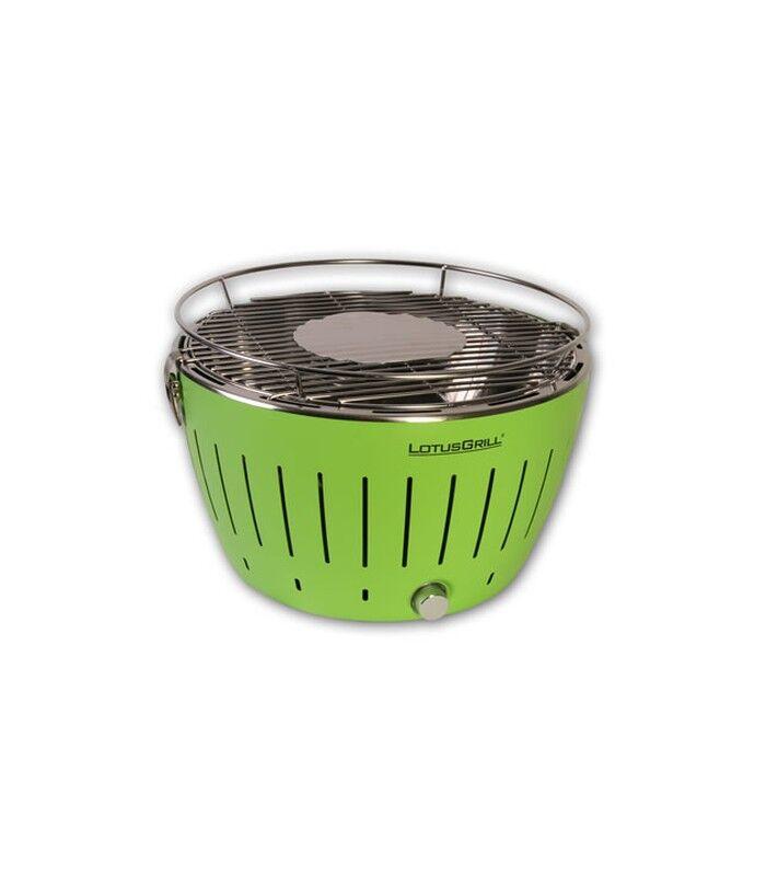 LotusGrill G-Gr-34 Barbecue Per L'Aperto E Bistecchiera Grill Kettle Antracite Verde