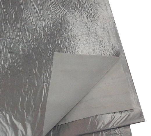 vincal coperta isotermica in misto viscosa polietilene argentata dim 120 x 220 cm
