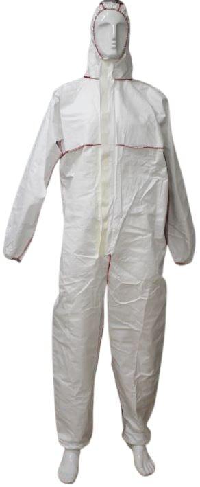 TTMed Tuta protettiva in tessuto laminato 62 gr/mq con cappuccio, DPI III cat, tipo 5B-6B