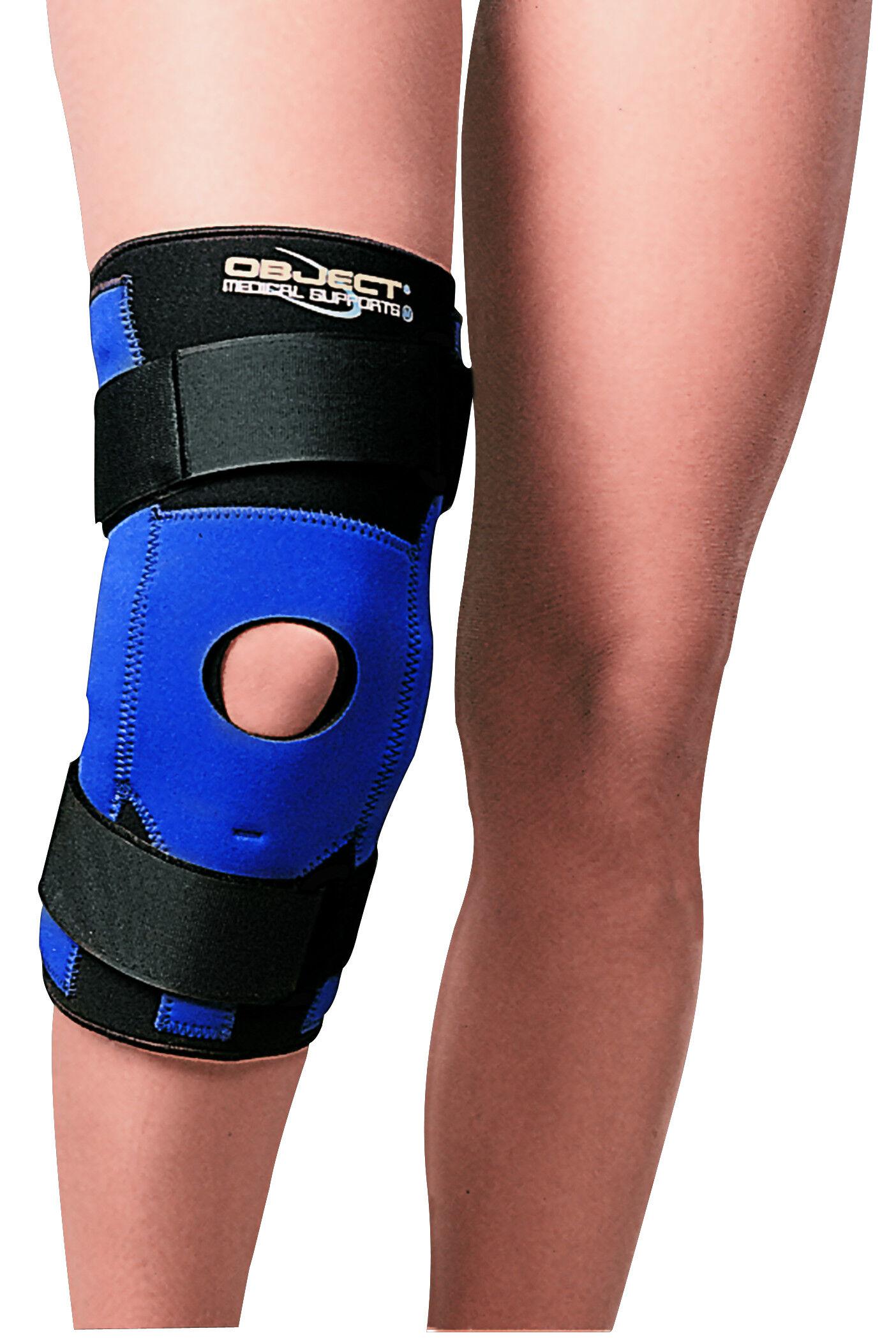 ro+ten ginocchiera rotulea ortopedica tubolare in neoprene con aste e stabilizzatore rotuleo varie misure