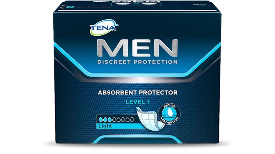 Tena Assorbenti maschili MEN Protezione LIGHT Livello 1 Cf da 24 pz