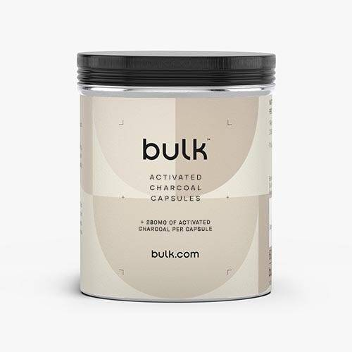 Bulk Carbone attivo Capsule da 280 mg 60