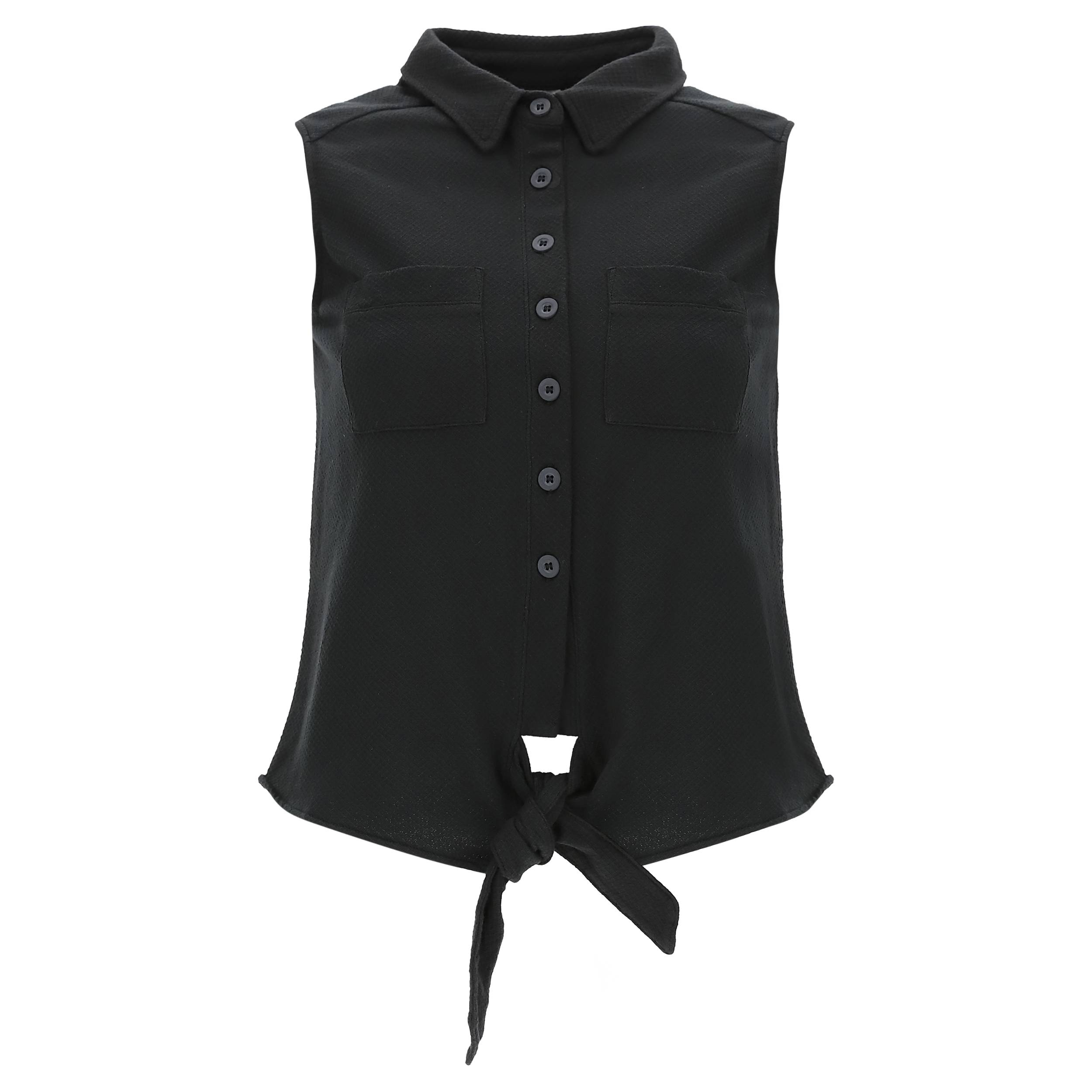 Freddy Camicia S/M Black Direct Dyed