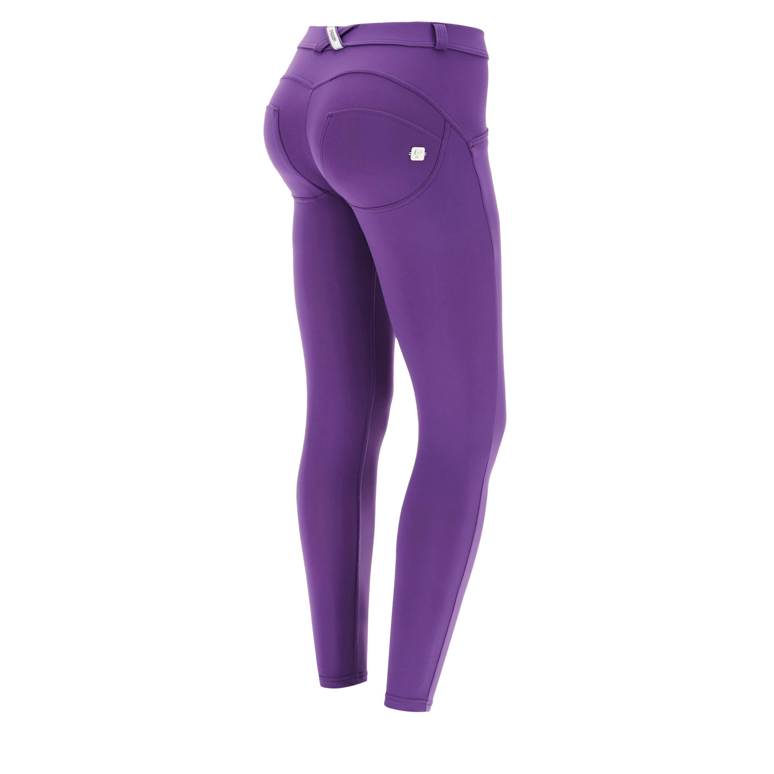 Freddy Pantaloni push up WR.UP® superskinny 7/8 bioattivi Made in Italy Imperial Purple