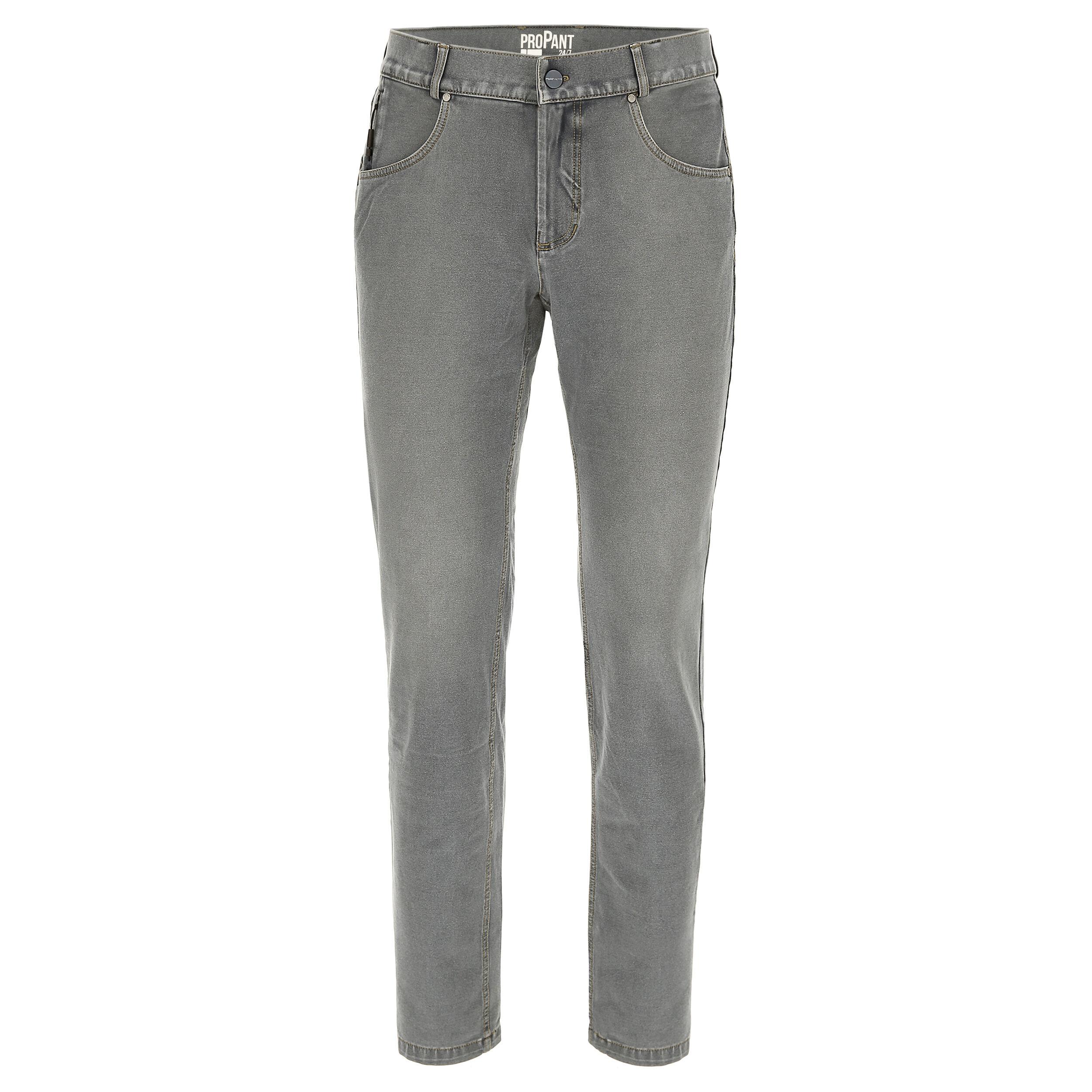 Freddy Pantalone lungo con supporto intimo doppio cambio Jeans Grigio-Cuciture Gialle