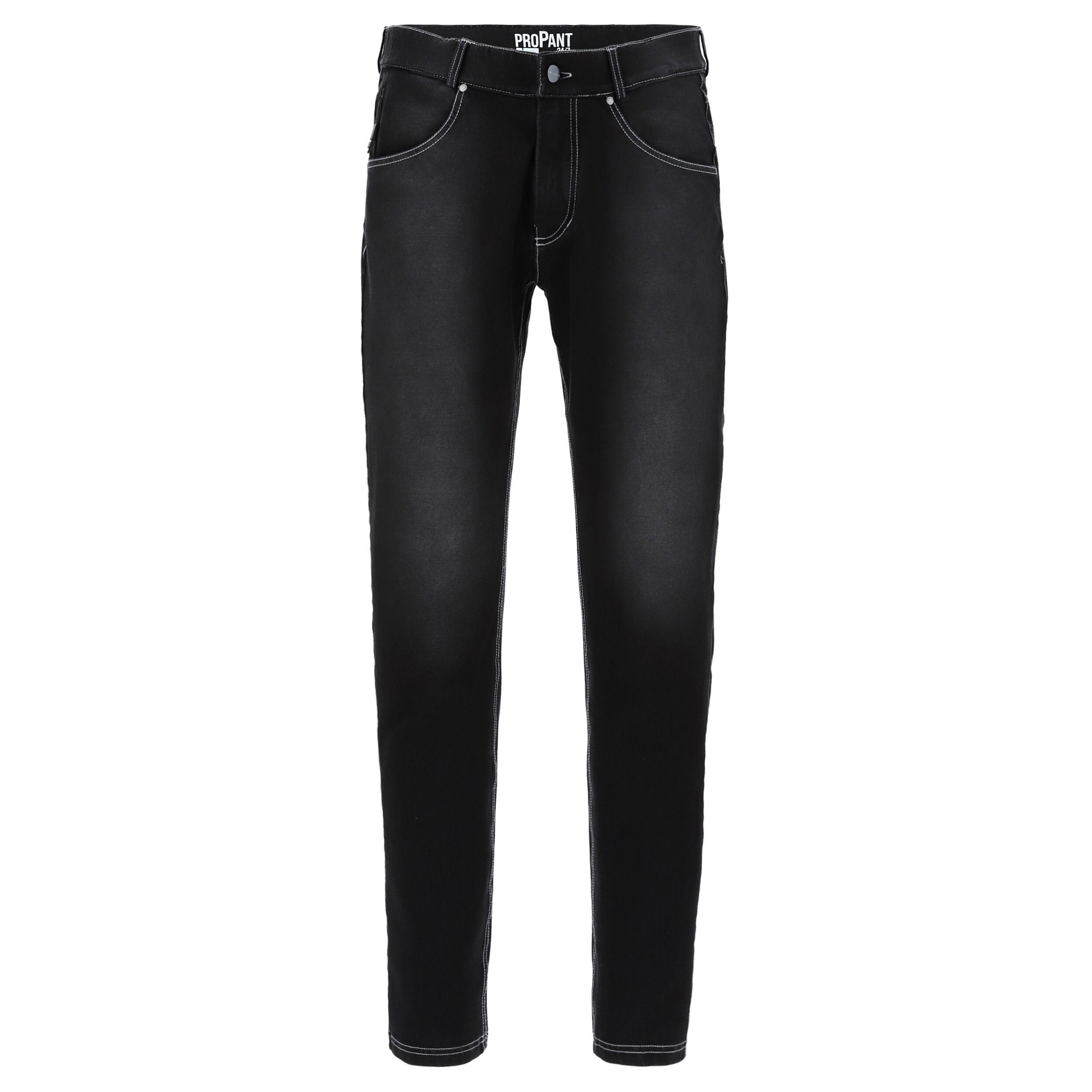 Freddy Pantalone lungo con supporto intimo doppio cambio Black Jeans-White Seams
