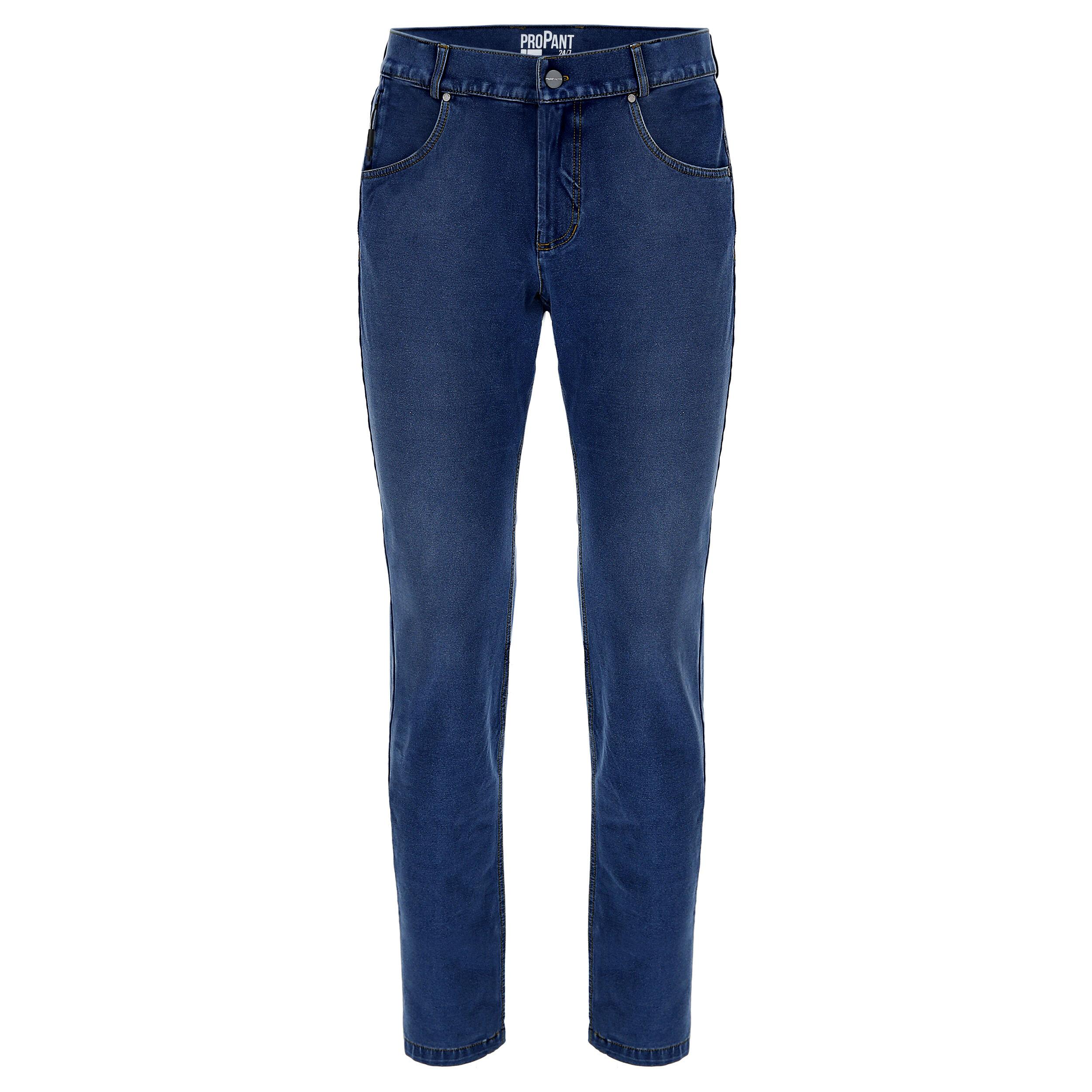 Freddy Pantalone lungo con supporto intimo doppio cambio Jeans Scuro-Cuciture Gialle