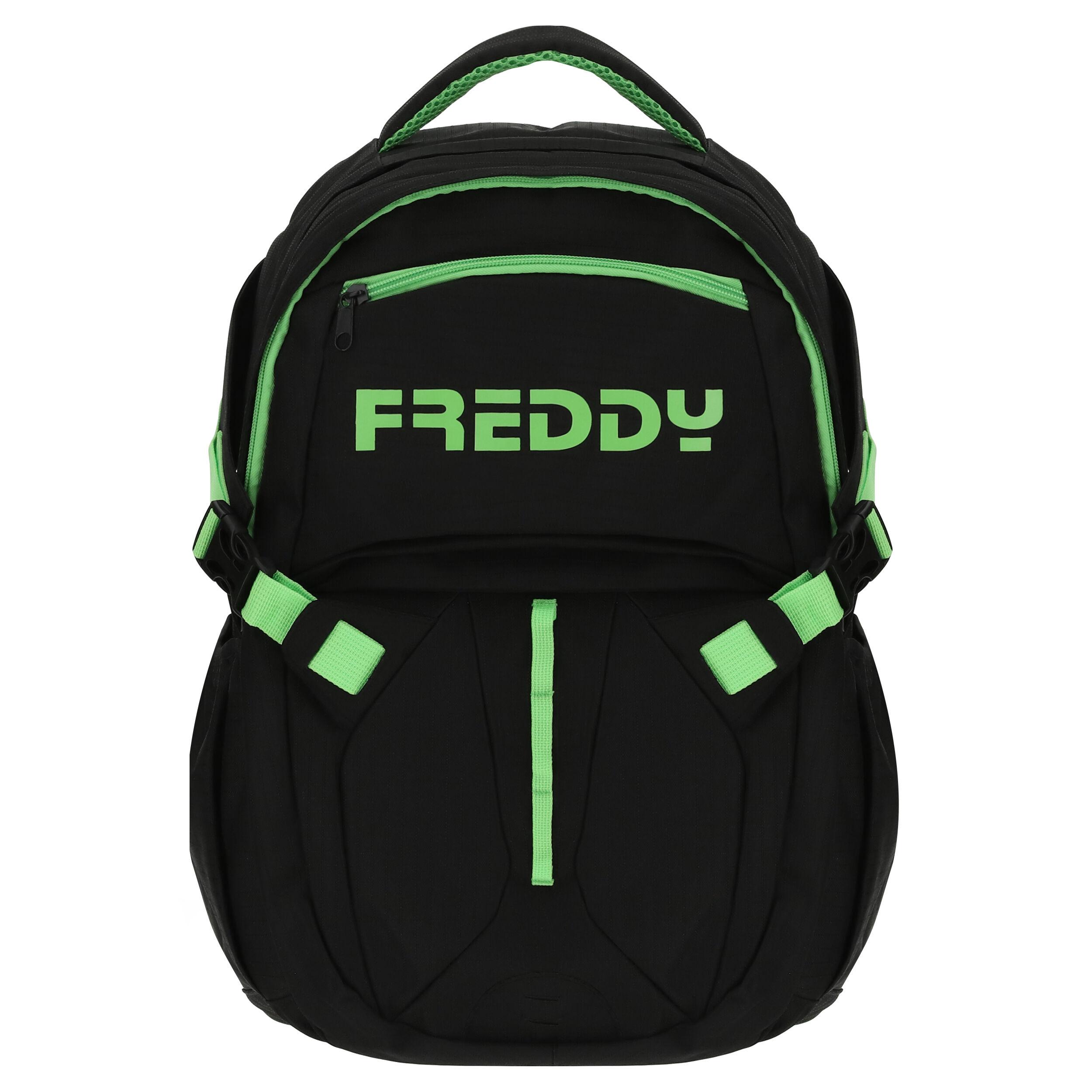 Freddy Zaino uomo multiscomparto Nero-Verde