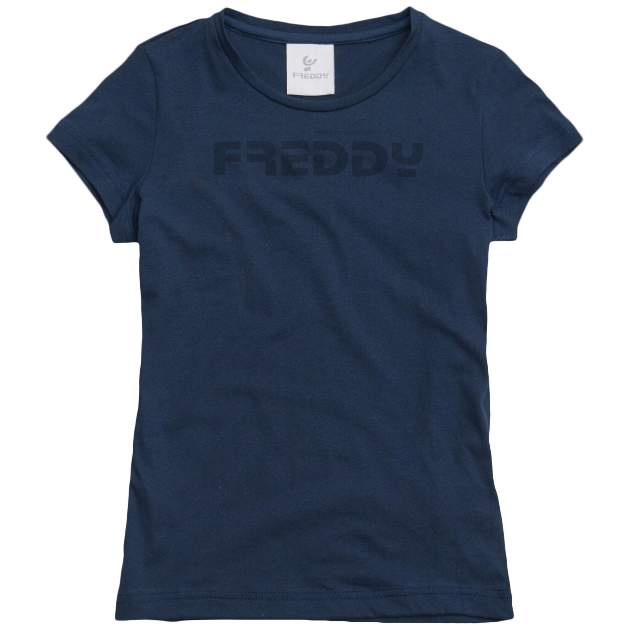 Freddy T-Shirt Manica Corta Blu