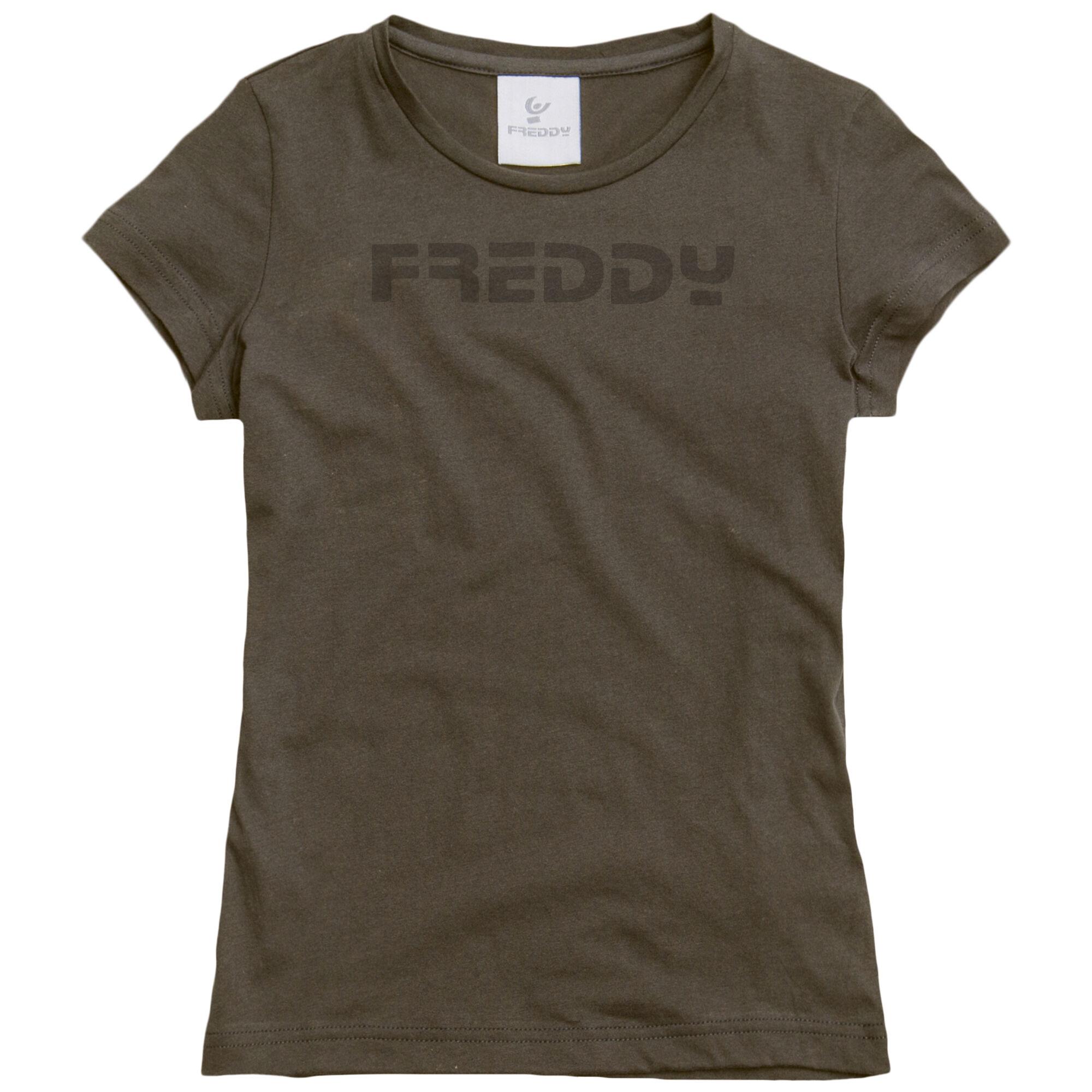 Freddy T-Shirt Manica Corta Marrone