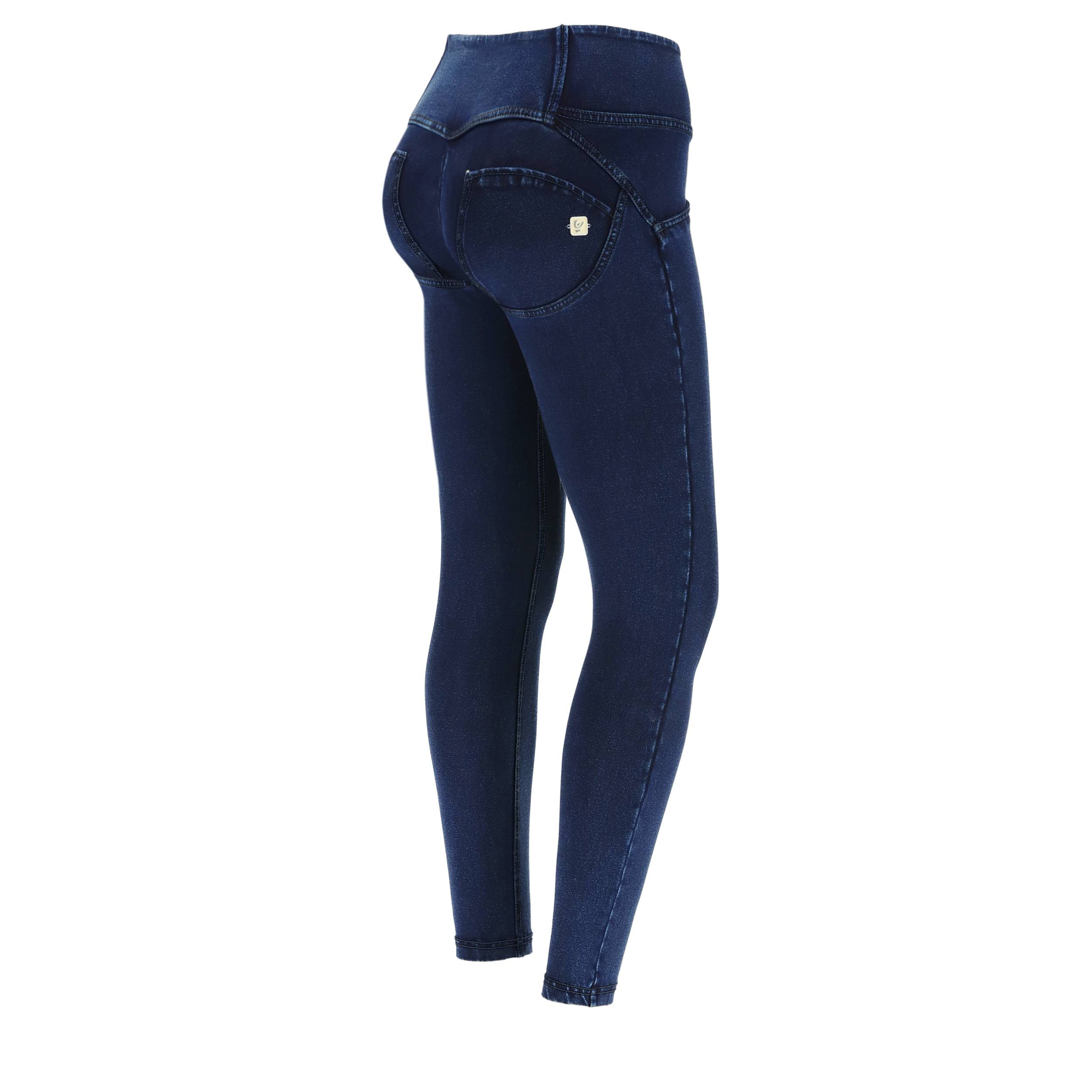 Freddy Jeggings push up WR.UP® 7/8 superskinny vita media Jeans Scuro-Cuciture In Tono