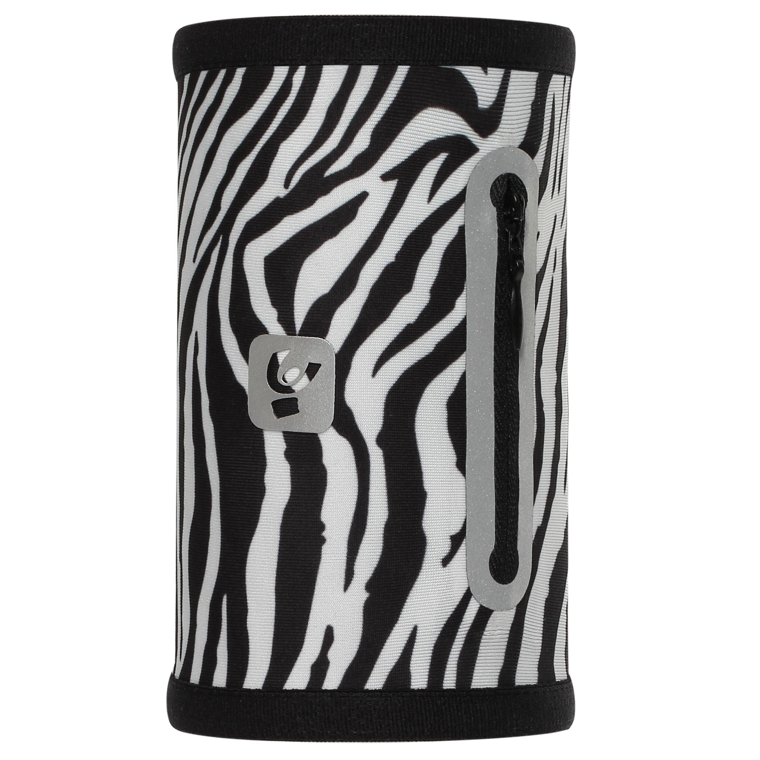 Freddy Fascia elastica da capelli stampa all-over - pack 4x coppie Animalier Zebra