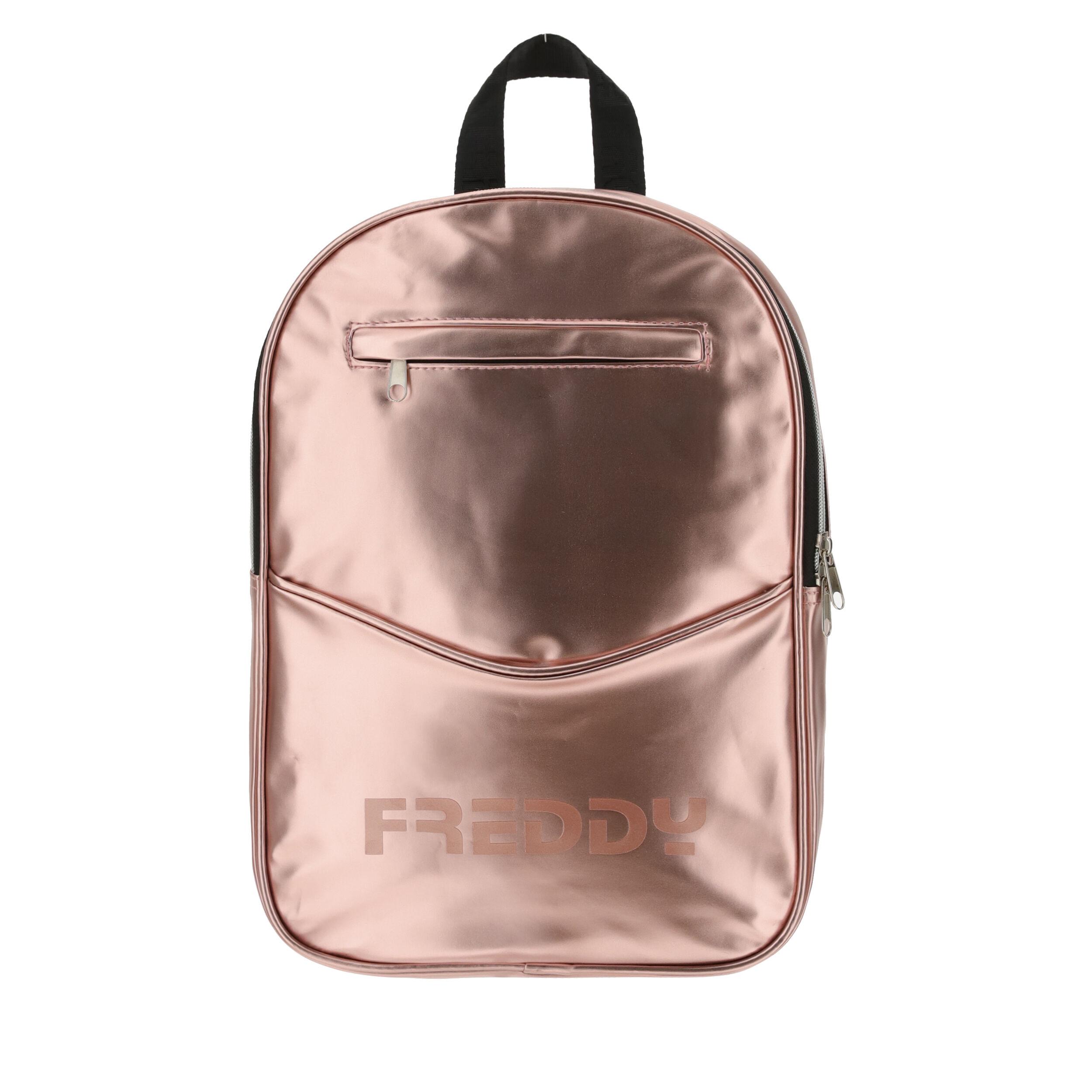 Freddy Zainetto in ecopelle metallizzata Pink