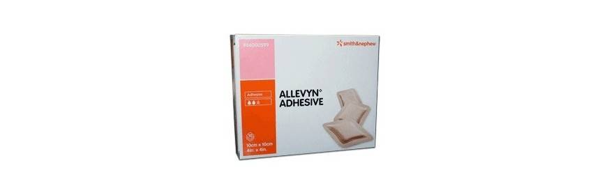 SMITH & NEPHEW ALLEVYN ADHES 10X10CM 10PZ 599 - DISPOSITIVO MEDICO