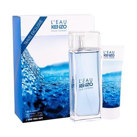 Kenzo L´Eau Kenzo Pour Homme confezione regalo Eau de Toilette 100 ml + 75 ml doccia gel da uomo