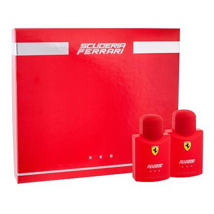 Ferrari Scuderia Red confezione regalo Eau de Toilette 75 ml + dopobarba 75 ml uomo