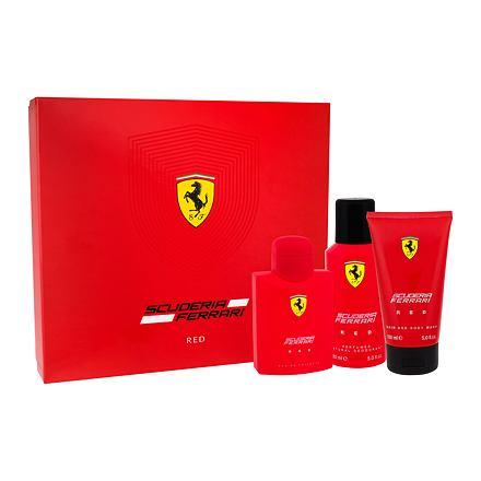 Ferrari Scuderia Red confezione regalo Eau de Toilette 125 ml + doccia gel 150 ml + deodorante 150 ml uomo