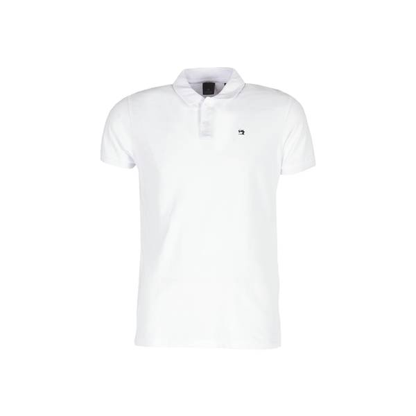 Scotch & Soda Polo classic pique - white