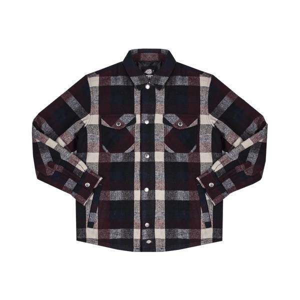 Dickies Layland - bordeaux/navy/grey