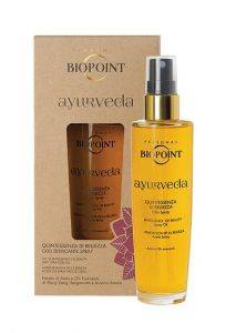 Biopoint Ayurveda Qiuntessenza di Bellezza Olio Setificante Spray 100 ml spray