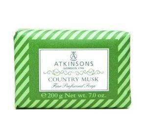 Atkinsons Fine Perfumed Soaps 200g Country Musk